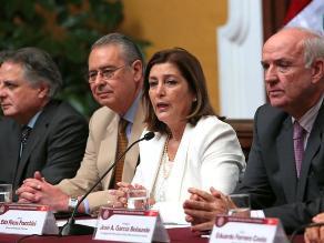 Eda Rivas y equipo de La Haya se presentarán ante comisión de RREE