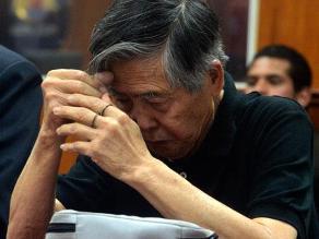 Expresidente Fujimori permanecerá hospitalizado hasta el miércoles