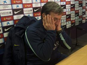 Martino: Descartar al Barcelona por 45 minutos mal jugados es apresurado