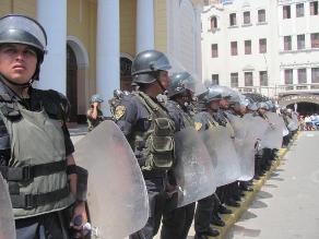Chimbote: sancionarán drásticamente a policías que acaten paro