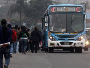 Multarán con S/. 760 a pasajeros ebrios que causen desorden en buses