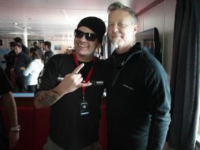 James Hetfield: ´La música es mi único regalo´