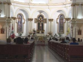 Se realizó nueva misa por salud de Don Óscar Avilés