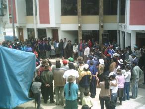 Apurímac: pobladores de Huancarama exigen destitución de alcalde