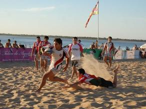 Trujillo: Huanchaco será sede de torneo internacional de rugby playa