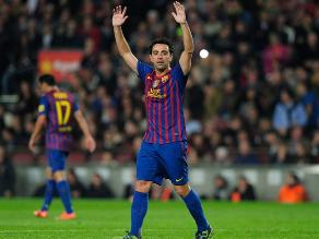 Xavi descarta a la Liga Premier y se queda en Barcelona