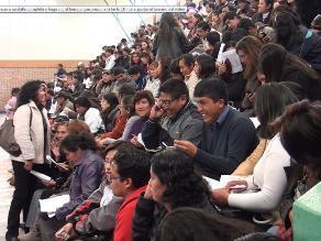 Huancayo: comenzó la adjudicación de plazas docentes