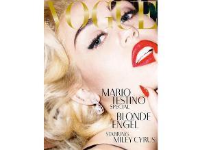 Miley Cyrus estará en la portada de Vogue