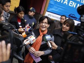 Villarán dice que ´exigió´ a Eduardo Zegarra asumir cargo en Emmsa