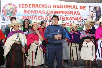 Rondas campesinas rechazan construcción de comisaría en El Tambo