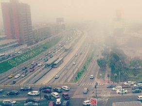 Neblina en Lima sorprende en pleno verano