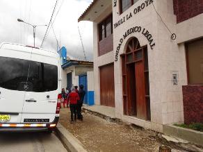 La Oroya: anciano muere en bus de servicio interprovincial