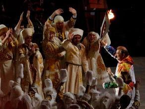 Imágenes: Así fue en el encendido de la llama de Sochi 2014