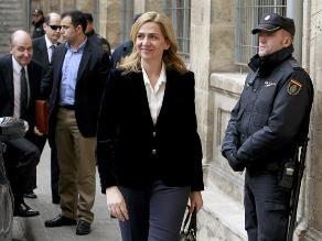 Infanta Cristina niega responsabilidad en caso de presunta corrupción