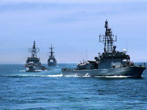 Naves peruanas ingresaron este sábado a mar que la Haya nos reconoció