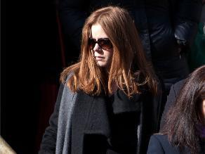 ¡Amy Adams furiosa por comentario en funeral de Hoffman!