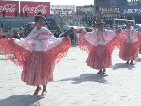 Baile y alegría en concurso de trajes de luces en honor a la Candelaria