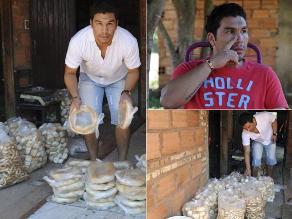 Salvador Cabañas, de estrella mundial a vendedor de pan en Paraguay