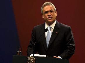 Piñera: Hemos enviado tantas notas al Perú por triángulo terrestre