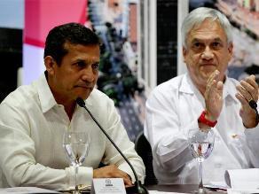 Presidentes Humala y Piñera sostienen encuentro en Cartagena