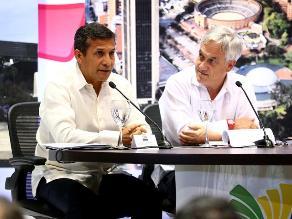 Presidente Humala a Sebastián Piñera: Triángulo terrestre es peruano
