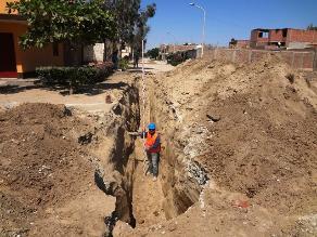 Gran Chimú: retoman obras de saneamiento en Cascas