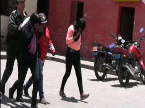 Arequipa: Policía interviene a tres adolescentes acusadas de hurto
