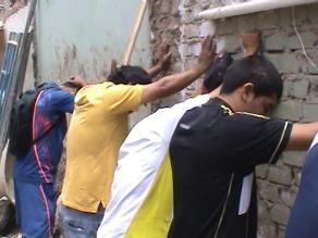 Chiclayo: detienen a 9 presuntos extorsionadores de Construcción Civil
