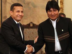Evo Morales y Humala se reunirán para hablar de megapuerto en Ilo