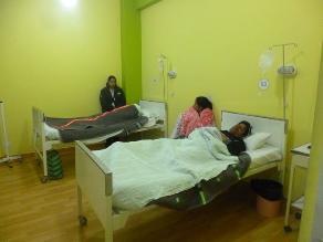 Heridos de incidente de helicóptero ingresan a hospital de Quillabamba