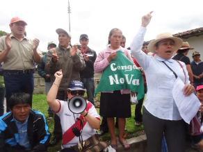 Cajamarca: denuncian derrame de petróleo en Conga