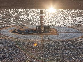 La planta solar más grande del mundo empezó a crear electricidad