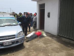 Dos hombres muertos deja ola delictiva en Chincha