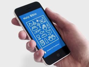 La Biblia reimaginada para teléfonos inteligentes
