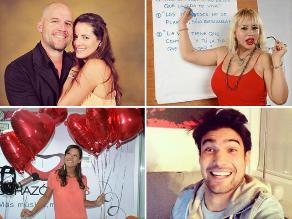 Famosos plasman sus mensajes de San Valentín en Twitter