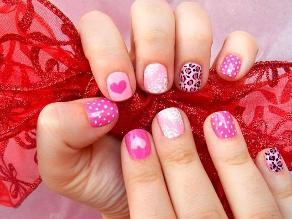 ¿Lista para San Valentín? 40 ideas para una romántica manicure