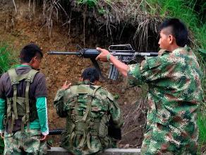 Unicef y Gobierno colombiano piden a grupos armados no reclutar niños