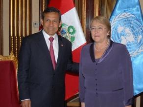 Presidente Humala confirma asistencia a toma de mando de Bachelet