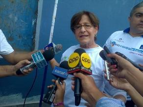Alcaldesa Susana Villarán: No voy a ir a la reelección