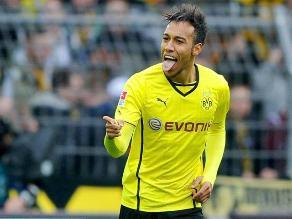 Eintracht Frankfurt sin Carlos Zambrano cayó 4-0 ante Borussia Dortmund