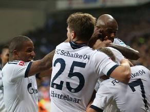 Con Jefferson Farfán, Schalke 04 le gana 2-1 al Bayer Leverkusen