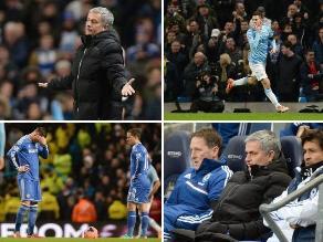 Así se lamentó Mourinho y todo Chelsea tras caer ante el City en Copa FA
