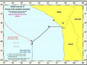 Delegación peruana llegó a Chile para trabajar coordenadas marítimas