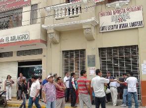 Lambayeque: en cuatro distritos no se desarrollan elecciones del APRA