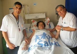 Chiclayo: extirpan tumor maligno de hígado a mujer de 77 años