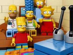 Los Simpson se transformarán en muñecos de Lego en capítulo especial