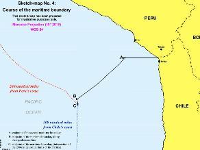 Expertos de Chile y Perú se reúnen por nuevo límite marítimo