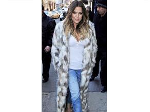 Khloé Kardashian contra los amantes de pieles