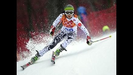 Sochi 2014: Peruana Ornella Oettl ocupó puesto 57 en slalom femenino