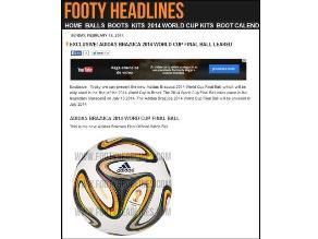 Brasil 2014: Filtran imagen del balón con el que se jugará la final